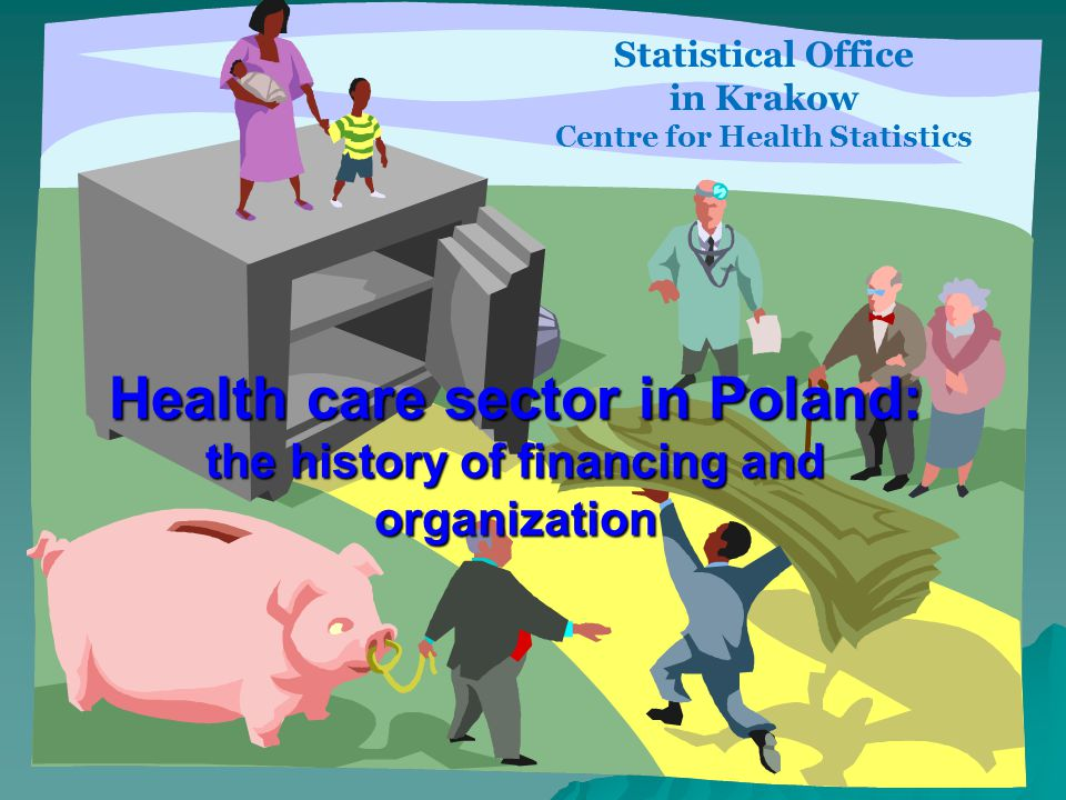 Diversity of responsibility on governmental levels (2) Voivodship (Regional level): secondary care in voivodship hospital secondary care in voivodship hospital providing acute care providing acute care planning health care services, organizing the structure of health institutions planning health care services, organizing the structure of health institutions allocating founds allocating founds Powiat (District, local level): the owners of health care organizations within their territory the owners of health care organizations within their territory district hospitals district hospitals Gmina (Municipality): primary care primary care