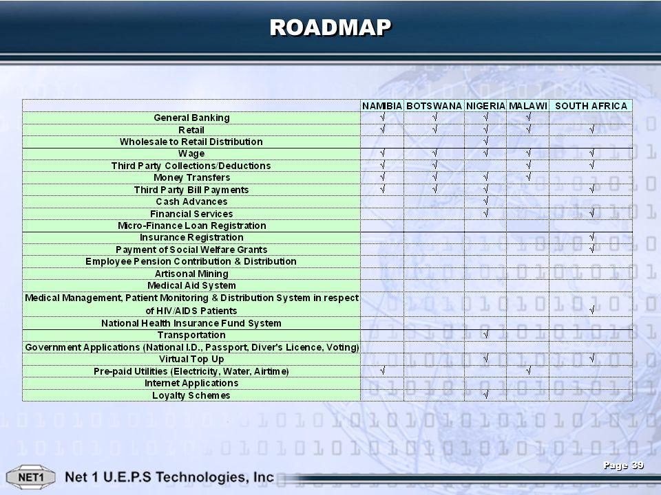ROADMAP Page 39