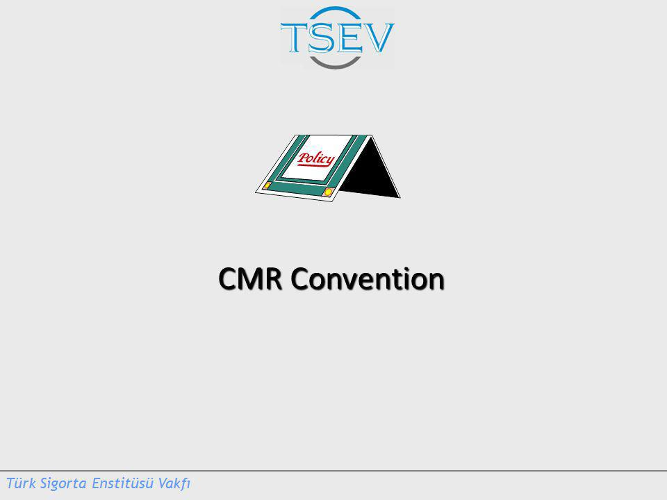CMR Convention CMR Convention