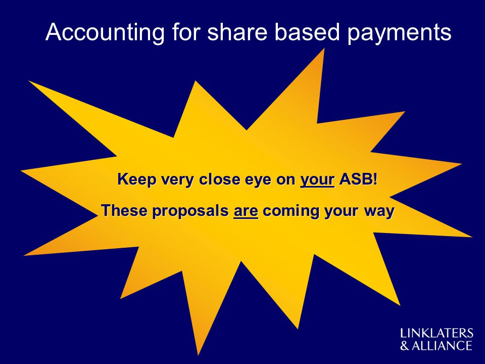 Keep very close eye on your ASB! These proposals are coming your way Keep very close eye on your ASB! These proposals are coming your way Accounting f