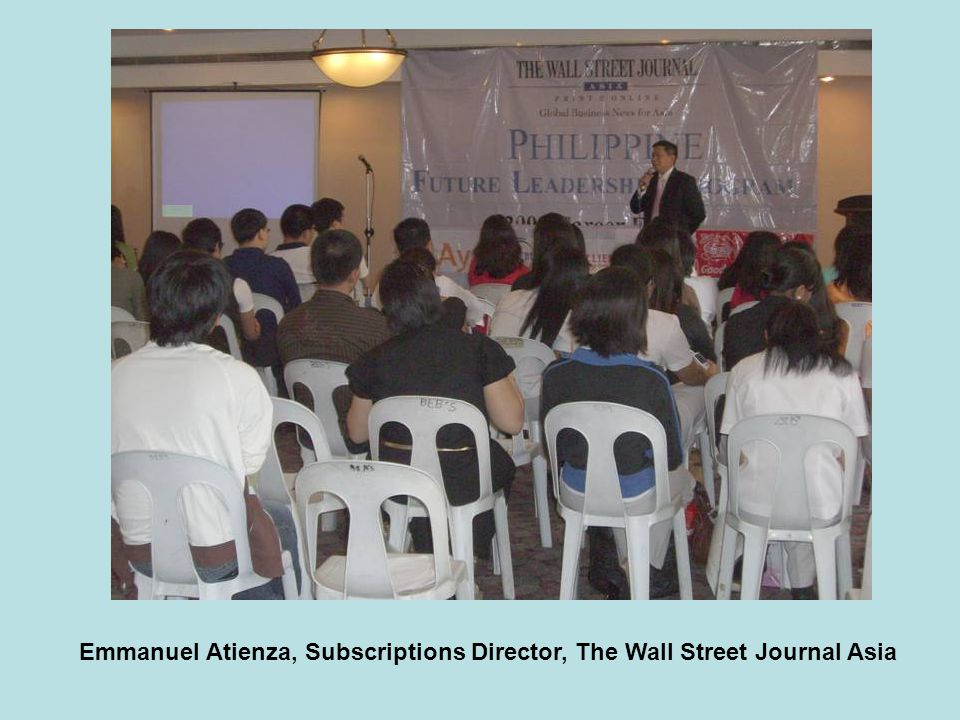 Emmanuel Atienza, Subscriptions Director, The Wall Street Journal Asia