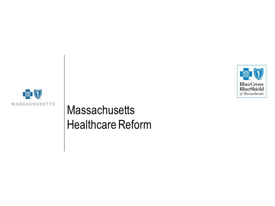 Massachusetts Healthcare Reform