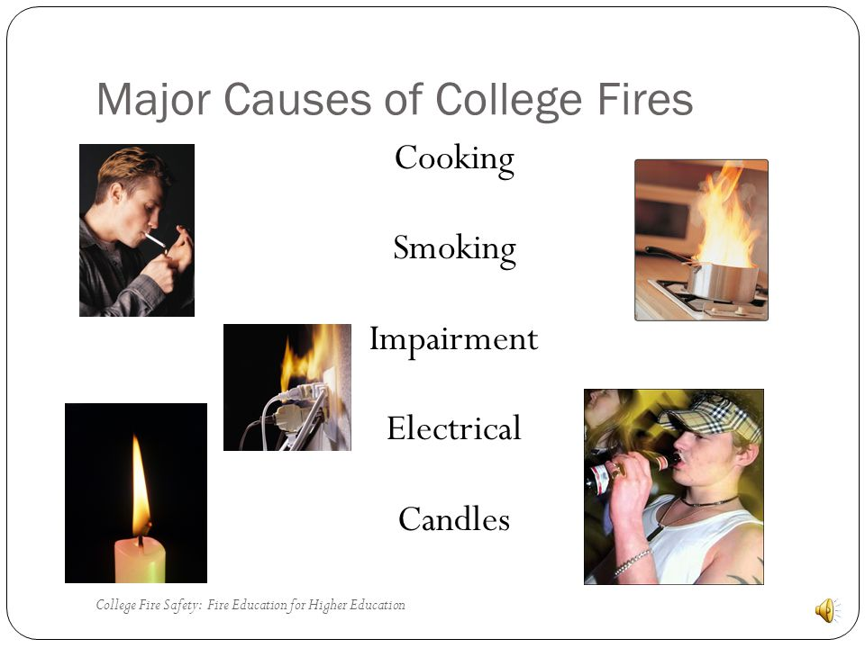 College Fire Fatalities Over 83% of campus related fire fatalities have occurred in off campus housing.