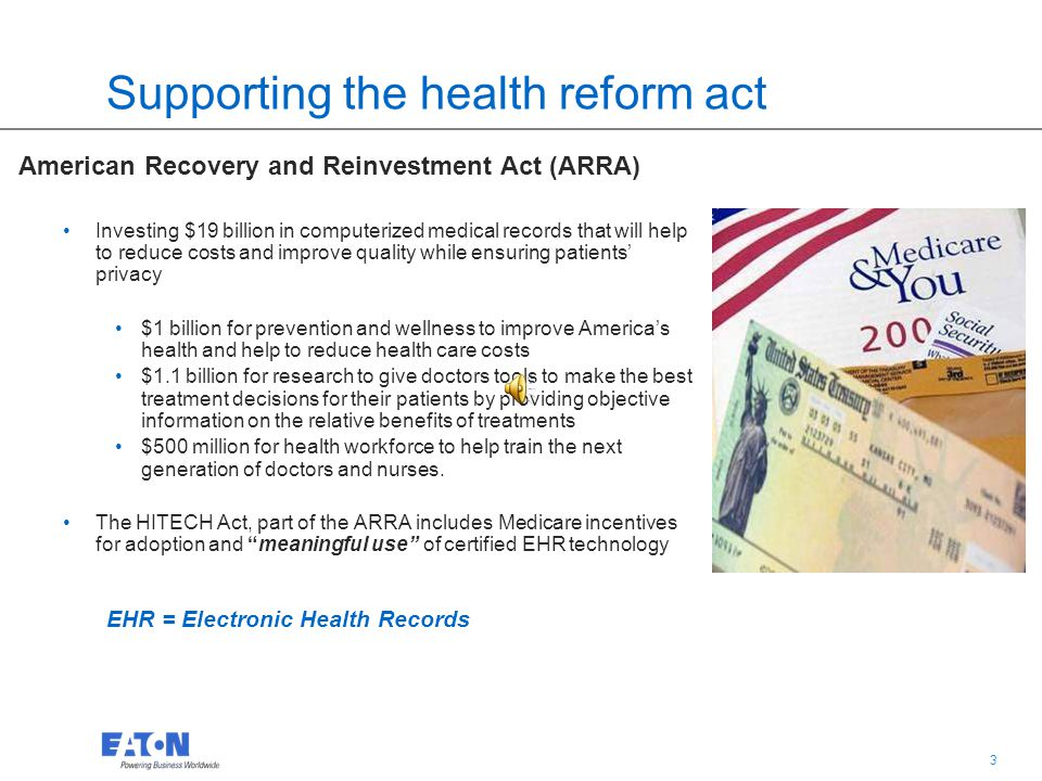 2 2 Current healthcare market drivers Health Reform Act Making health insurance more affordable 32 million more people covered New competitive health