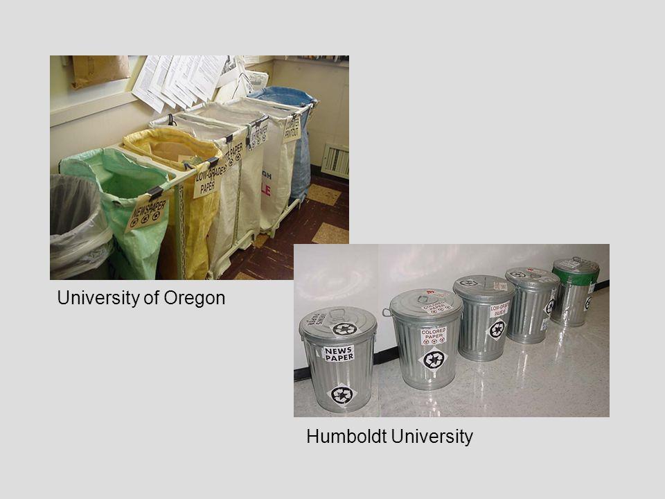 University of Oregon Humboldt University