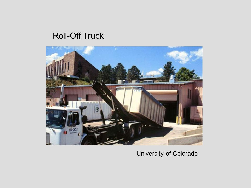 Roll-Off Truck University of Colorado