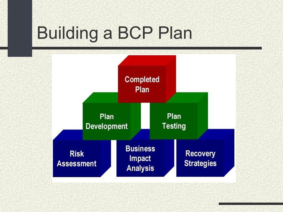 Building a BCP Plan