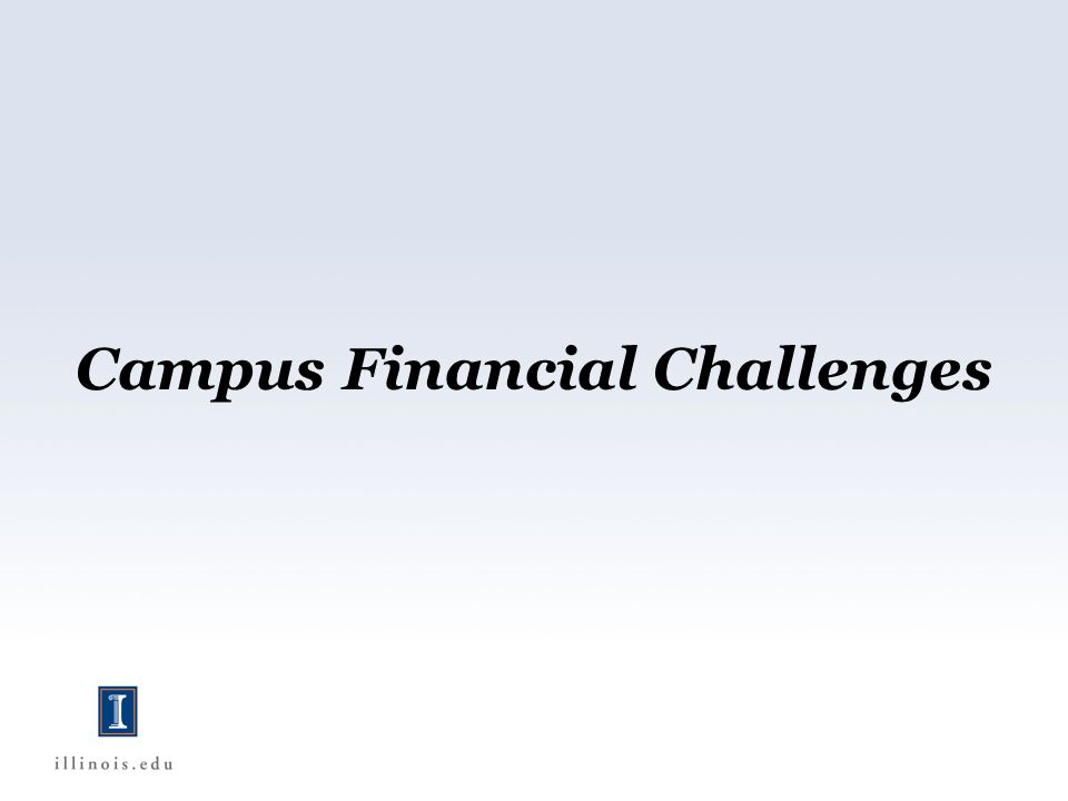 Campus Financial Challenges