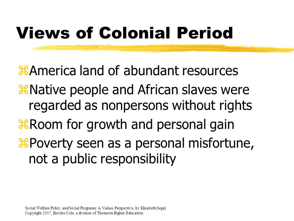 Colonial Period 1690-1800