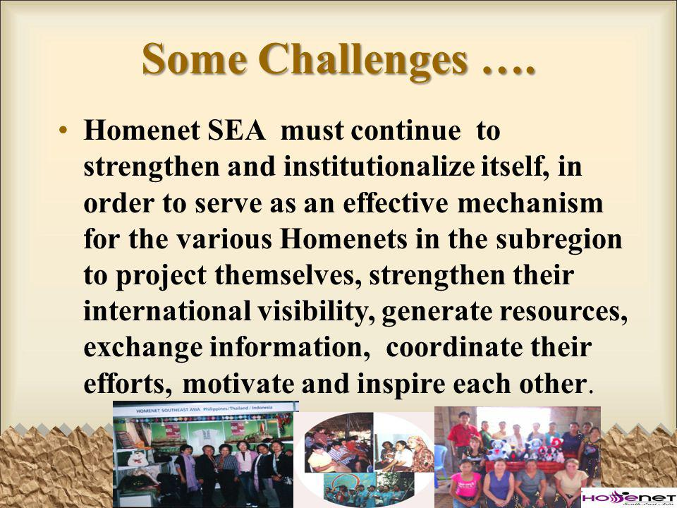 Some Challenges ….