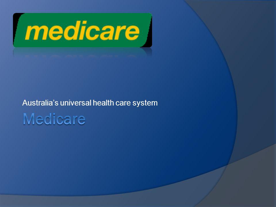 Australias universal health care system