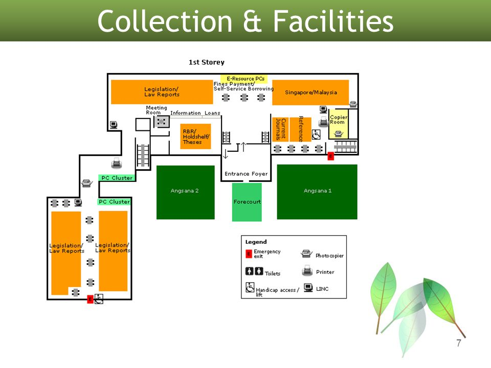 Collection & Facilities 7