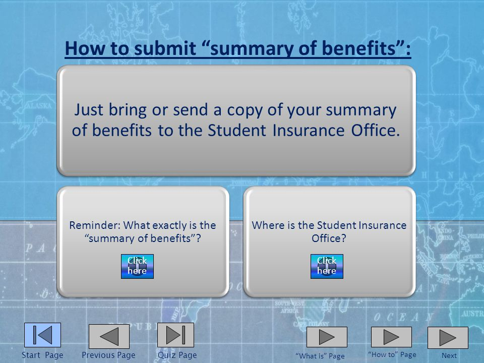 How to provide proof of insurance: Just bring or send a copy of your health insurance card to the Student Insurance Office.