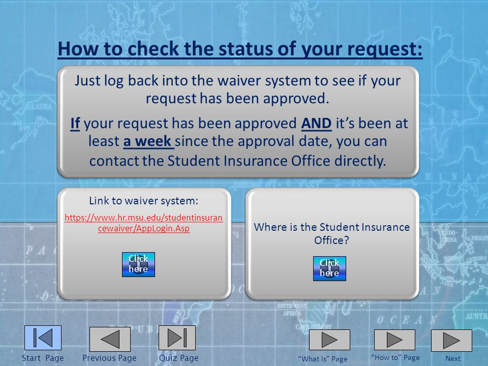 How to submit summary of benefits: Just bring or send a copy of your summary of benefits to the Student Insurance Office.