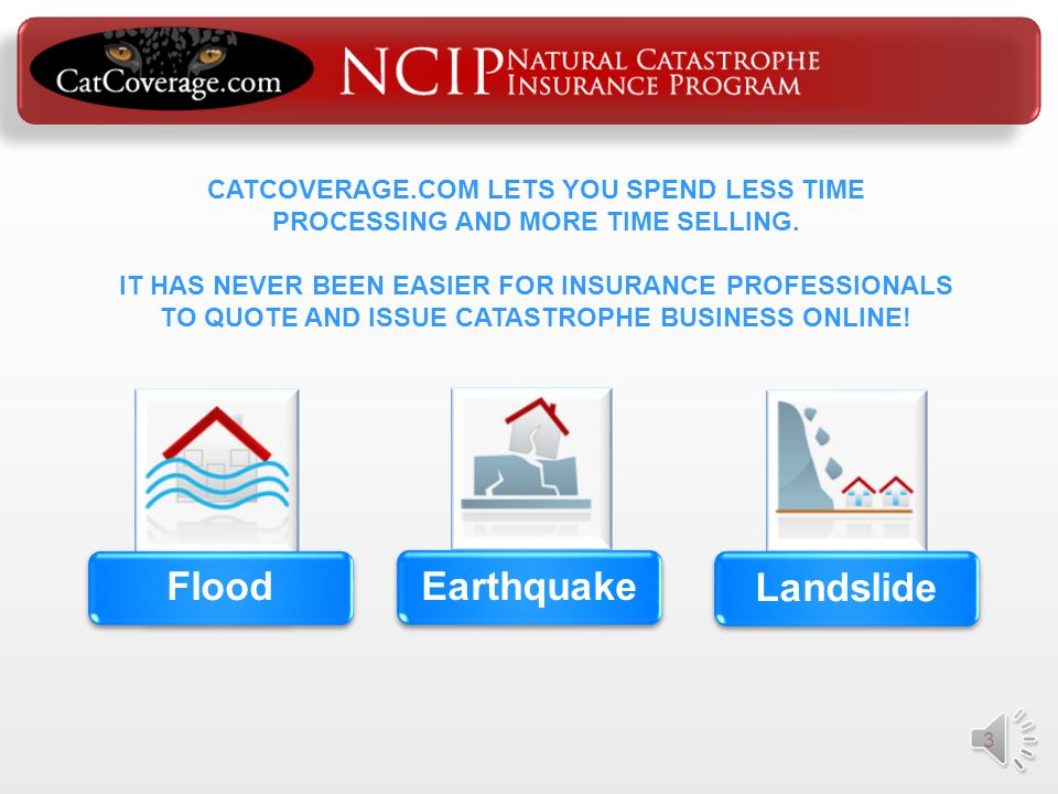 2 Writing Catastrophe Insurance Can Be Hard….. But CatCoverage.com Makes It Easy!