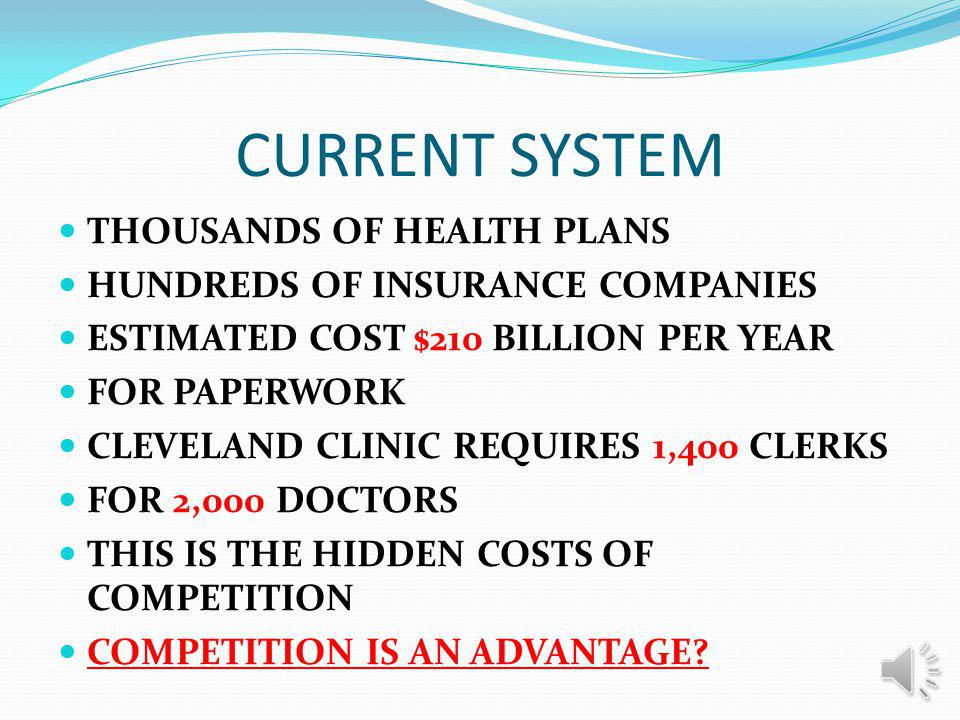 SIMPLIFY PAPER WORK All participating in this Plan will use the same forms for enrollment, and claims payment All insurance cards will be the same, showing the name of the customer and the Company issuing it The cards will be MACHINE READABLE to save time and reduce mistakes All of this will simplify paperwork for providers and increase savings