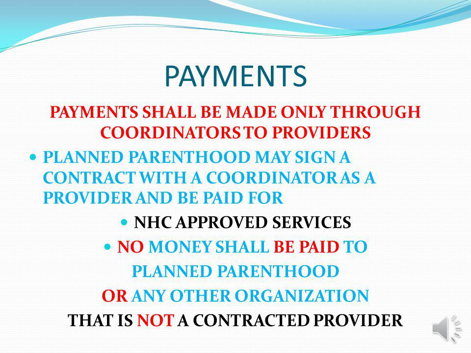 THE PLAN The plan will be fee-for-service, like we have now It will operate in a similar manner to the way Medicare operates The fee for service schedules are already available and in use and some of the procedures include: Mammograms Pap smears/tests PSA Tests