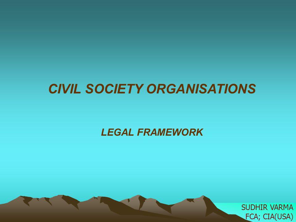 UNDERSTANDING THE TERM 1.CSO-Civil Society Organizations 2.