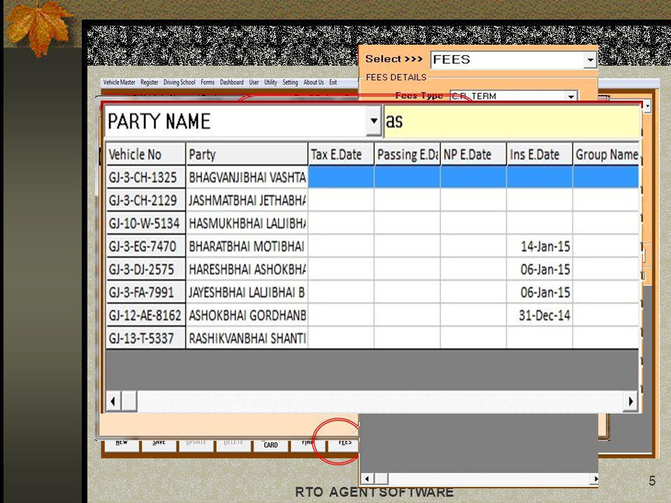 This contains all the RTO related forms which are directly printable.