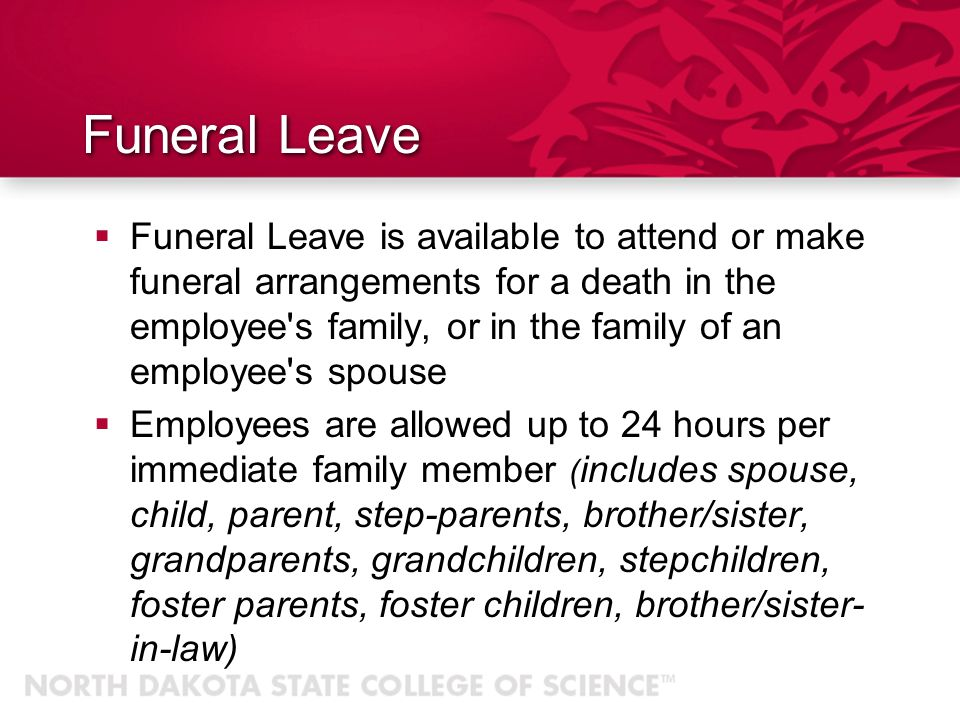 Sick Leave Full-time, 12 month employees earn 12 days per year Employees may use up to 40 hours of sick leave to assist eligible family members in see