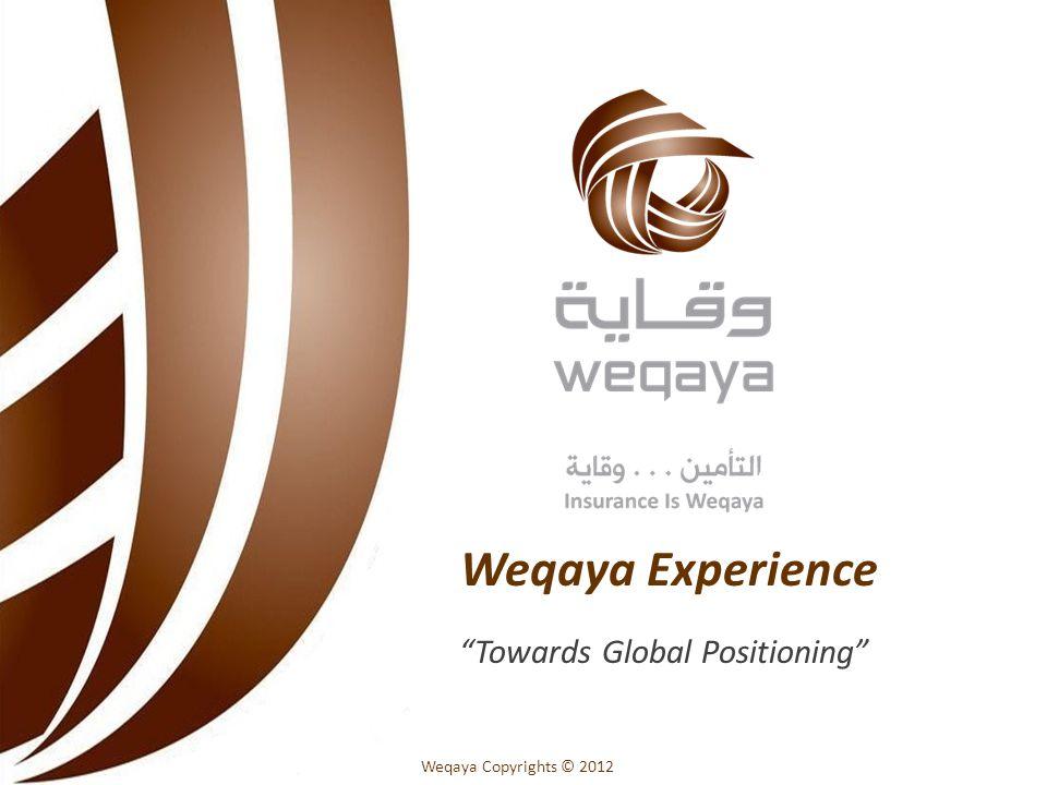 Weqaya Copyrights © 2012 Weqaya Experience Towards Global Positioning