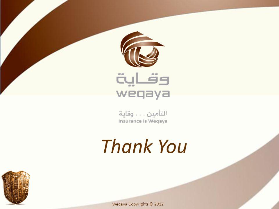 Thank You Weqaya Copyrights © 2012