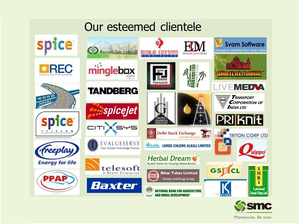 27 Our esteemed clientele