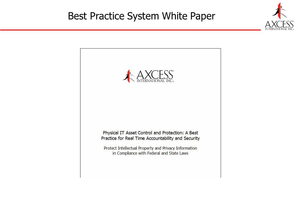 Best Practice System White Paper