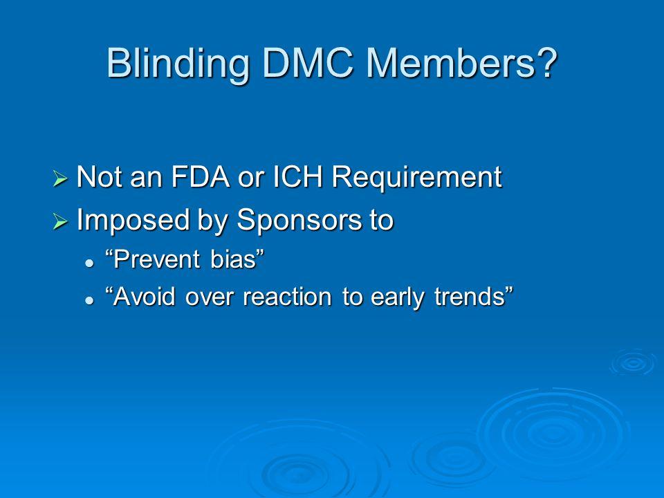 Blinding DMC Members.