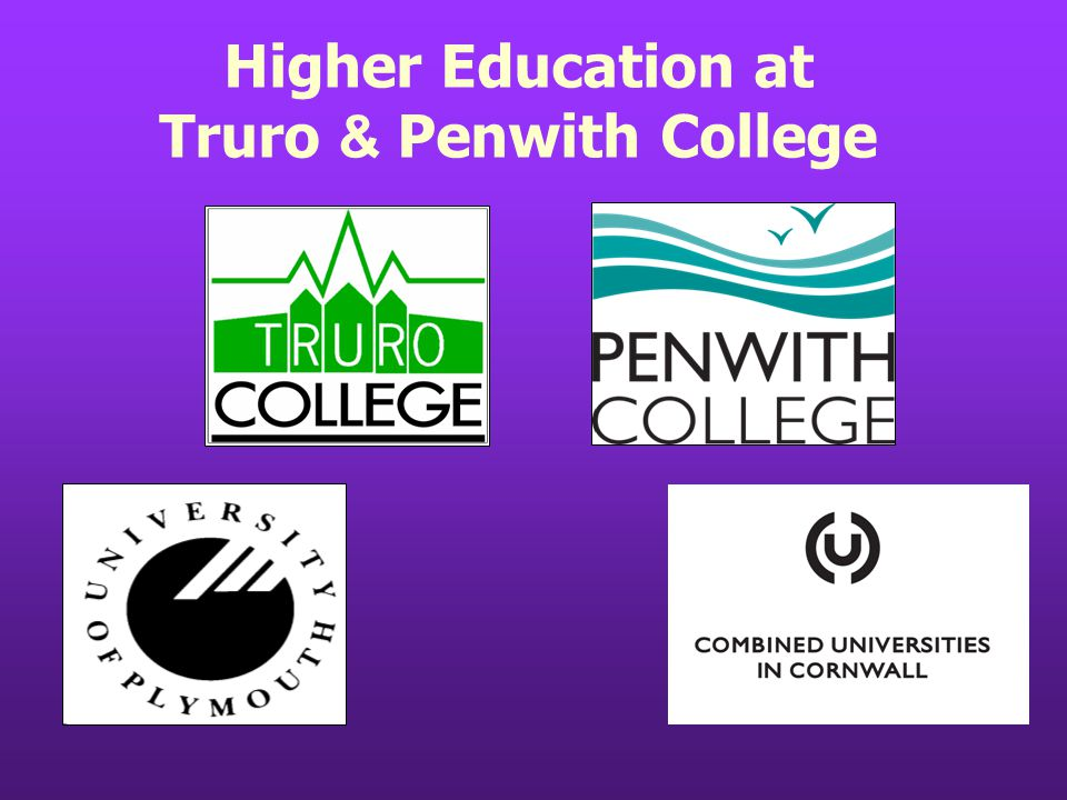 Higher Education at Truro & Penwith College