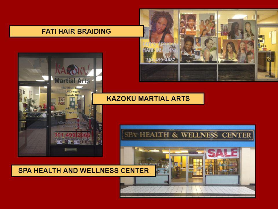 KAZOKU MARTIAL ARTS FATI HAIR BRAIDING SPA HEALTH AND WELLNESS CENTER
