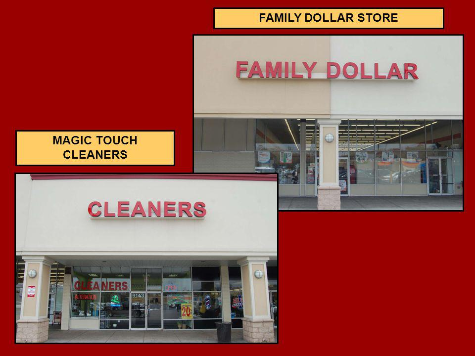 FAMILY DOLLAR STORE MAGIC TOUCH CLEANERS