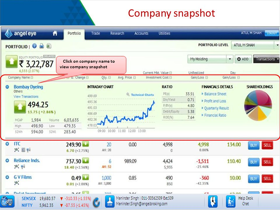 Company snapshot Click on company name to view company snapshot