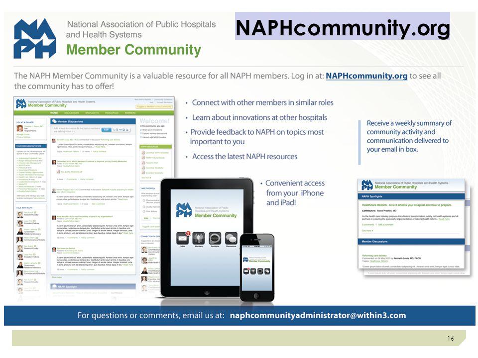 NAPHcommunity.org 16