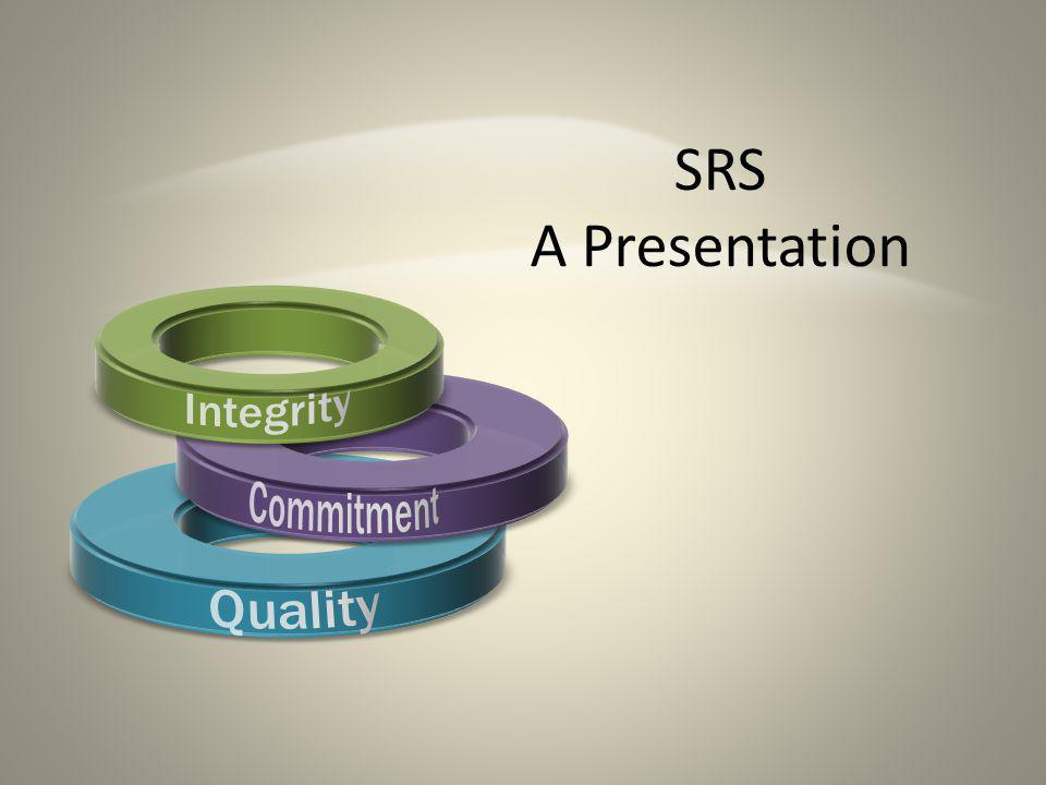 SRS A Presentation