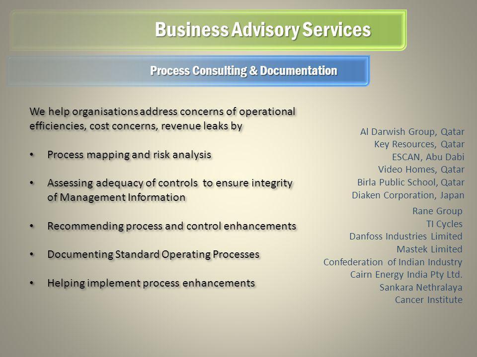 Business Advisory Services Al Darwish Group, Qatar Key Resources, Qatar ESCAN, Abu Dabi Video Homes, Qatar Birla Public School, Qatar Diaken Corporati