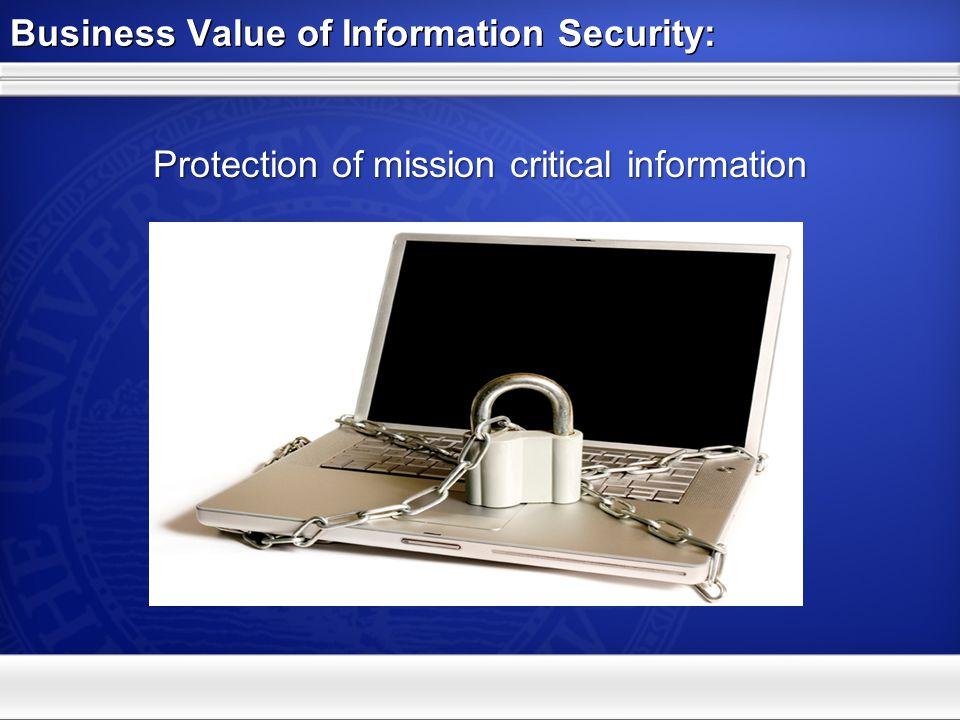 Agenda: Information Security Program 1.Business Value 2.Business Drivers 3.Managing Risk 4.Building Trust 1.Business Value 2.Business Drivers 3.Managing Risk 4.Building Trust