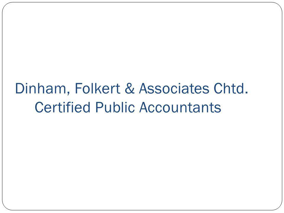 Dinham, Folkert & Associates Chtd. Certified Public Accountants