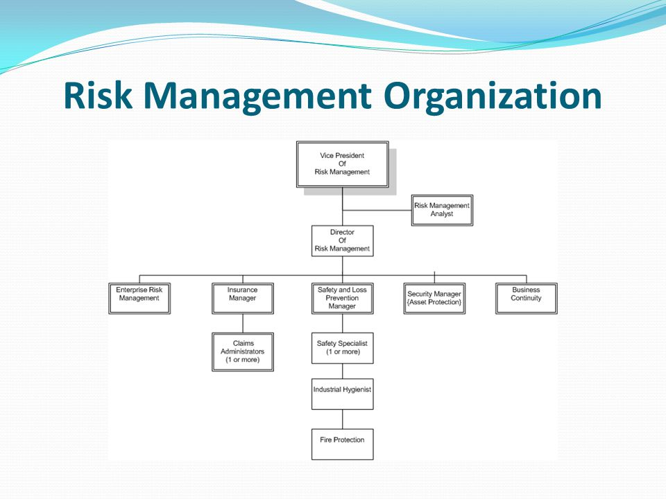 Risk Management Defined The process of making and implementing decisions that will minimize the adverse effects of accidental losses Involves 4 primary functions of managing resources and activities that will lessen the adverse effects i.