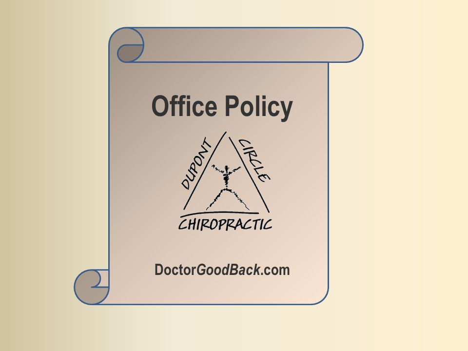 Office Policy Doctor GoodBack.com