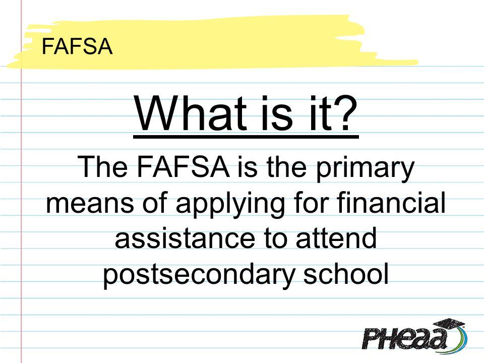 FAFSA 101 OK, I filed --- Whats next?