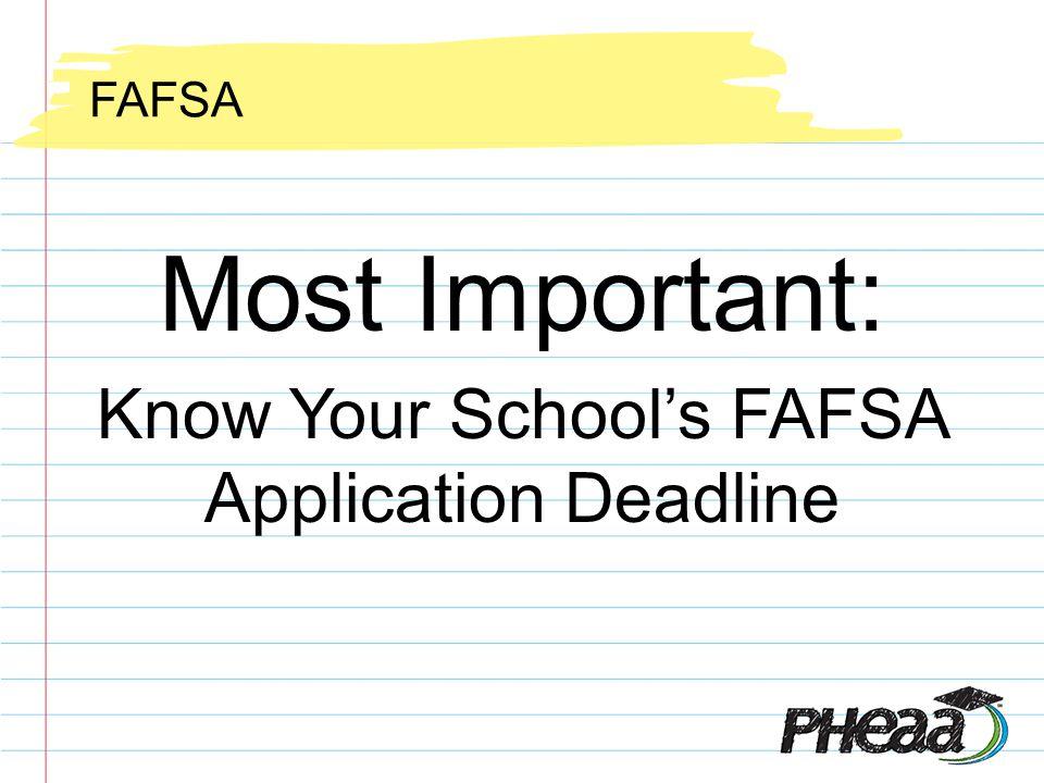 Highlights FAFSA On The Web