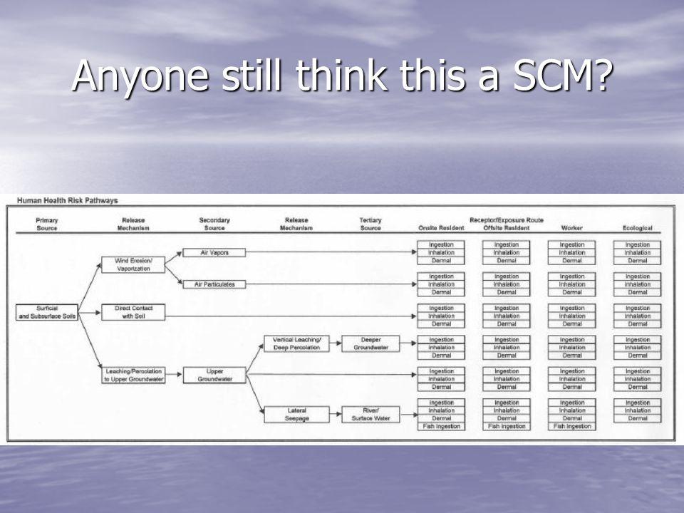 Anyone still think this a SCM?