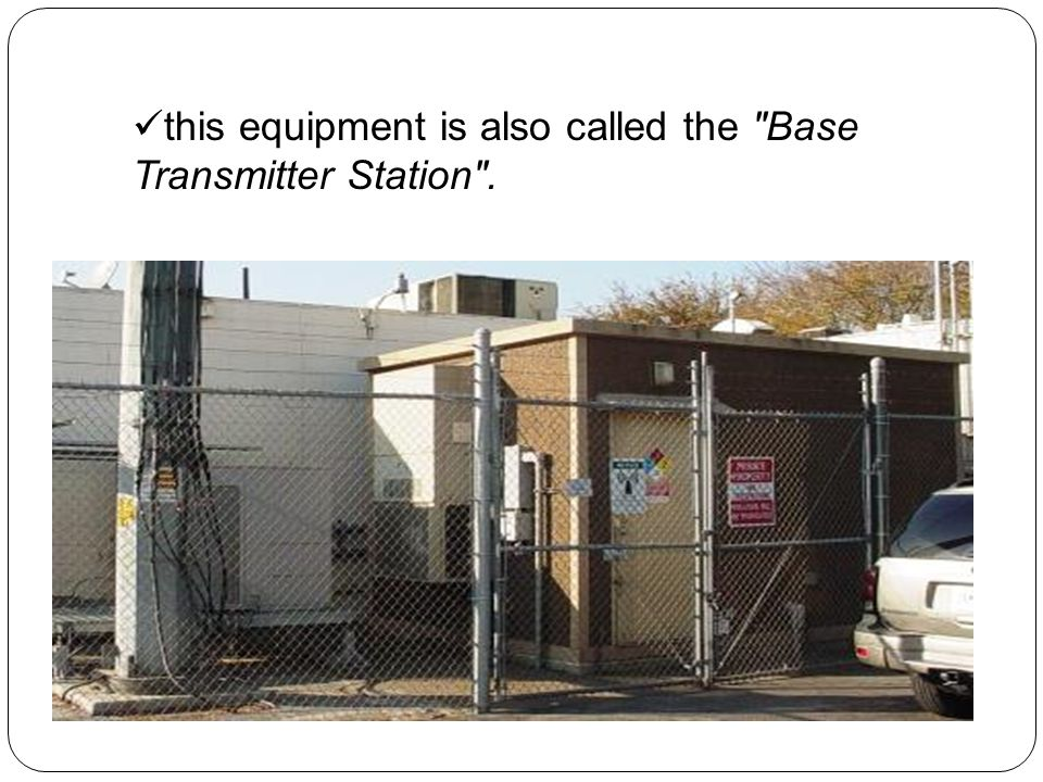 this equipment is also called the Base Transmitter Station .