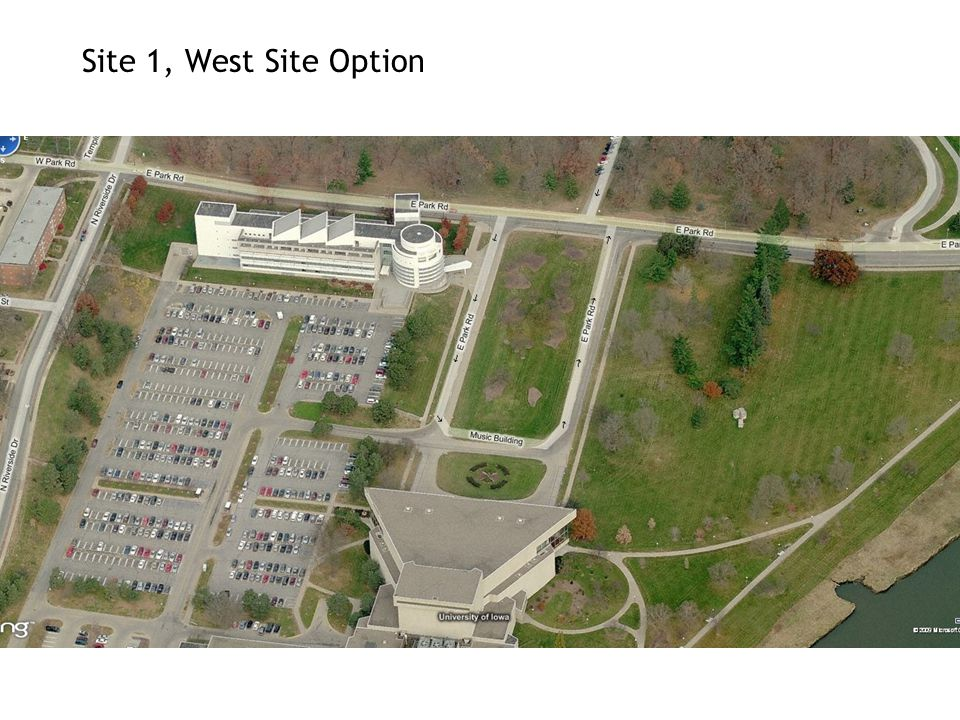 Site 1, West Site Option