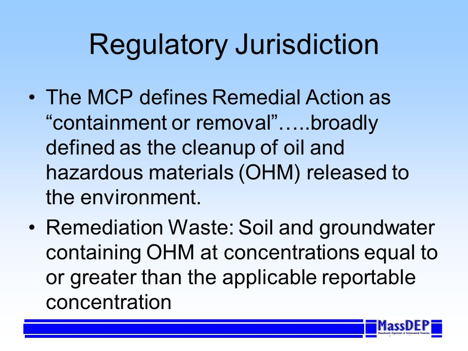 Managing Exempt Releases: No submittal requirements No fees (and no audit potential) Develop and implement HASP Manage contaminated soil and groundwater in accordance with applicable requirements (e.g.