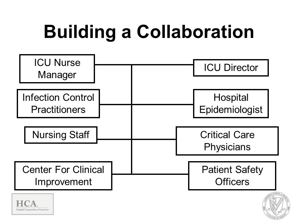 ICU Director ICU Nurse Manager Infection Control Practitioners Hospital Epidemiologist Critical Care Physicians Nursing Staff Center For Clinical Impr