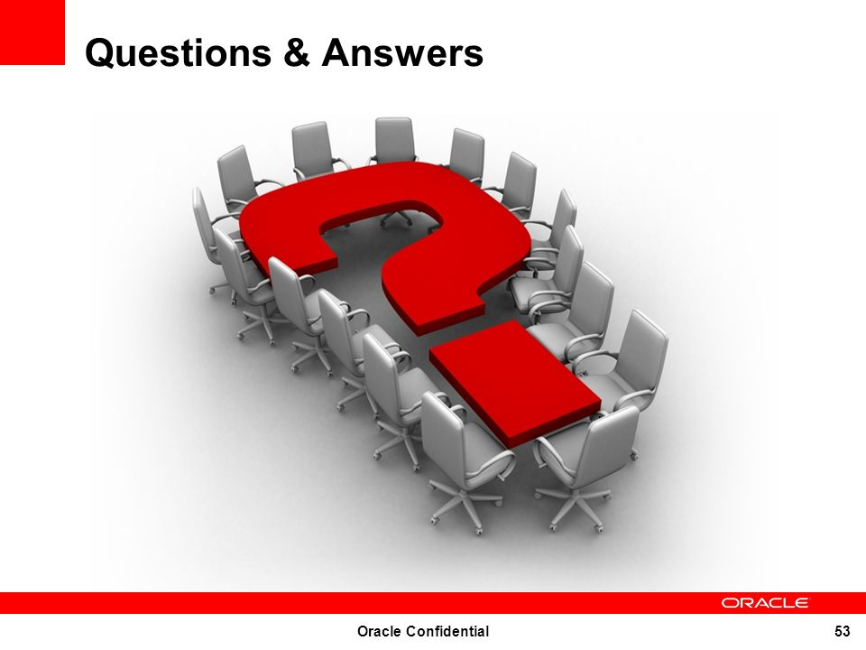 Oracle Confidential 53 Questions & Answers
