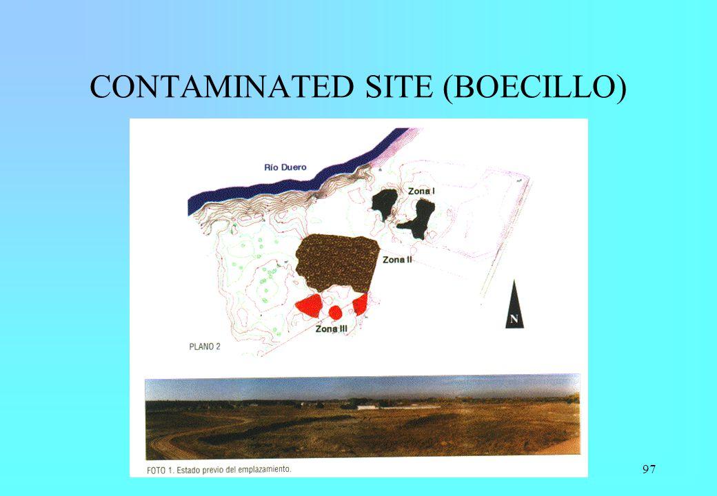 97 CONTAMINATED SITE (BOECILLO)