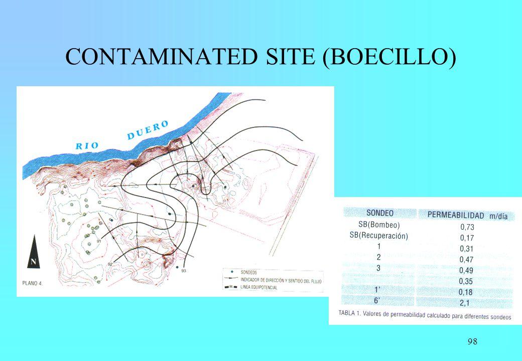 98 CONTAMINATED SITE (BOECILLO)
